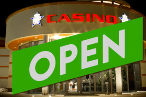 Europe casino to reopen