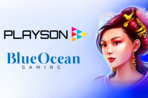 Playson content goes live with BlueOcean Gaming.