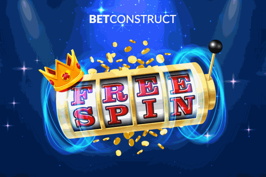 BetConstruct launches free spins to improve its progressive jackpots.