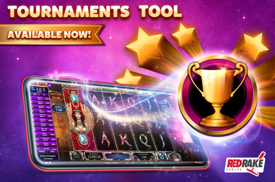 Red Rake Gaming launched a new tournaments tool.