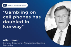 Gambling on cell phones has doubled