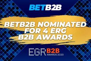 BETB2B platform nominated at EGR B2B Awards