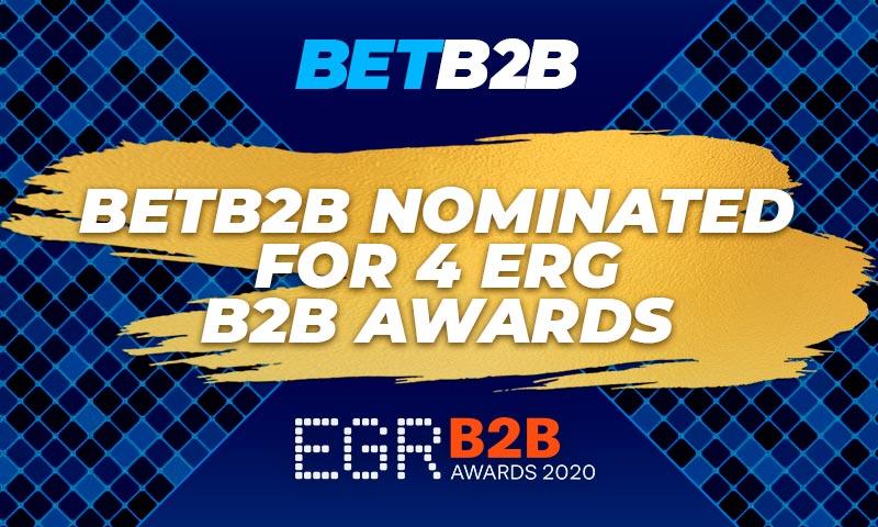 BETB2B platform nominated in four categories of prestigious EGR B2B Awards