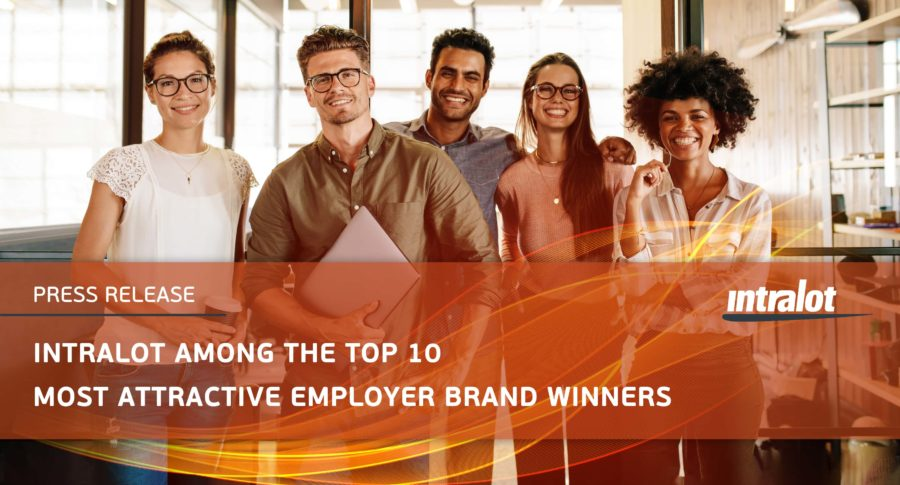 INTRALOT among the Top 10 most attractive employer brand winners