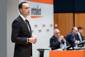 Intralot Group CEO Chris Dimitriadis.