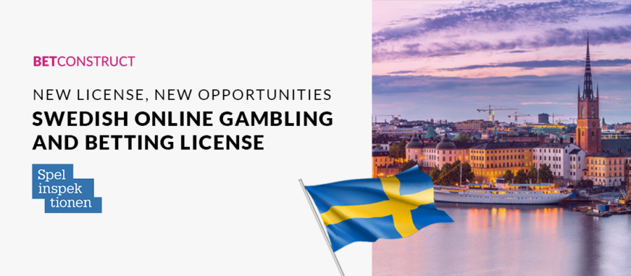 BetConstruct awarded Swedish online gambling and betting licence