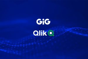 GiG and Qlik will work together after they signed a partnership.