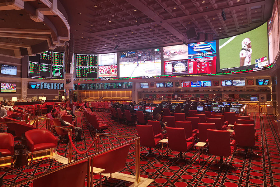 Tribal casino signed a deal with a sports betting company.