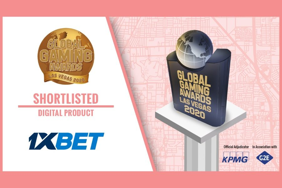 "1xBet has been shortlisted at the Global Gaming Awards in the ""Digital Product of the Year"" category."