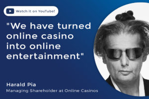 Harald Pia, Managing Shareholder at Online Casinos
