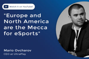 Mario Ovcharov, CEO at UltraPlay