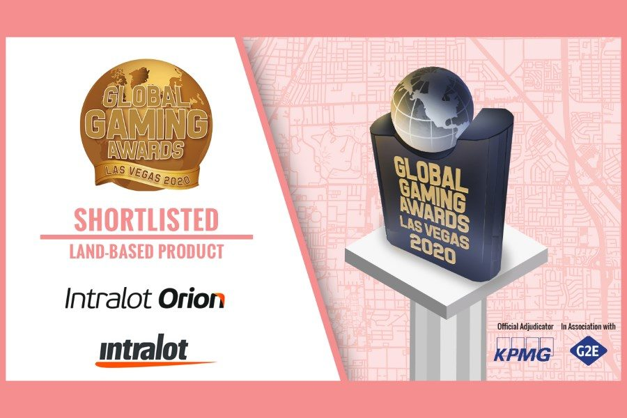 "Intralot Orion has been shortlisted for the Global Gaming Awards Las Vegas 2020, in the ""Land-Based Product of the Year"" category."