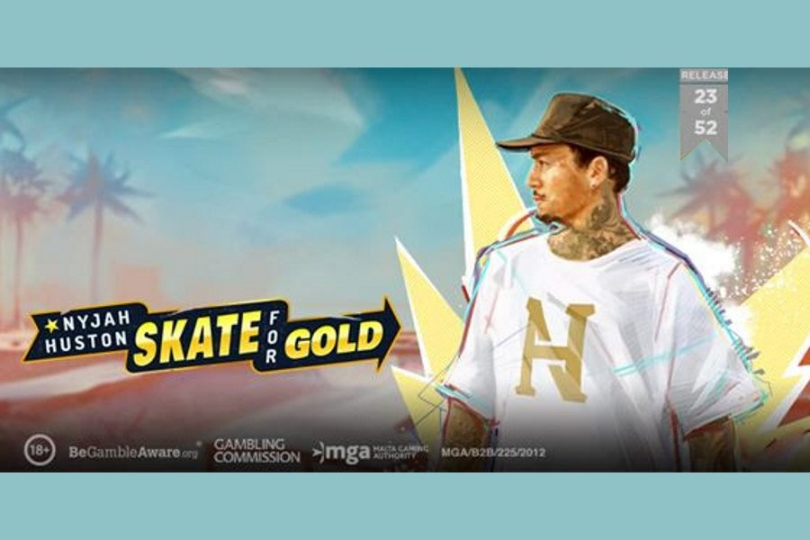 Play'n GO releases a skateboarding title with Nyjah Huston.