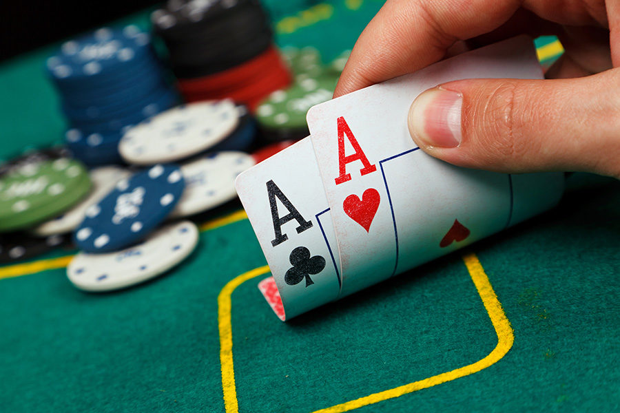 The poker tournament was scheduled in 2015