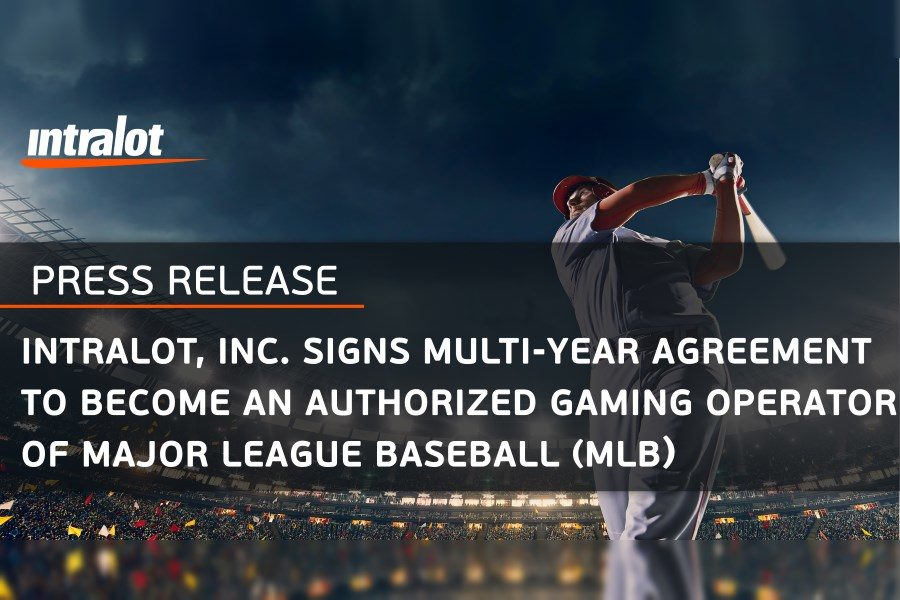 Intralot Inc has become the MLB's Authorised Gaming Operator.