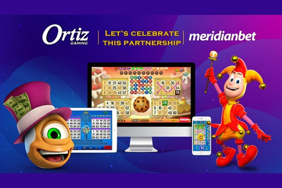 Ortiz Gaming and Meridianbet signed a new deal.