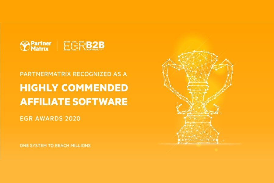 ParnerMatrix got judges' appreciation at EGR B2B Awards 2020.
