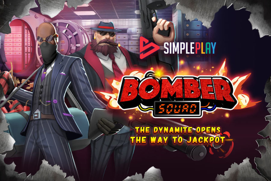 SimplePlay presents Bomber Squad, its latest slot game.