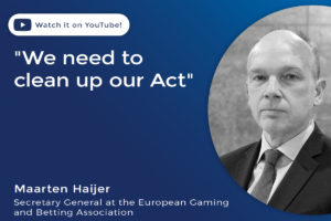 """Maarten Haijer """"We need to clean up our act"""""""