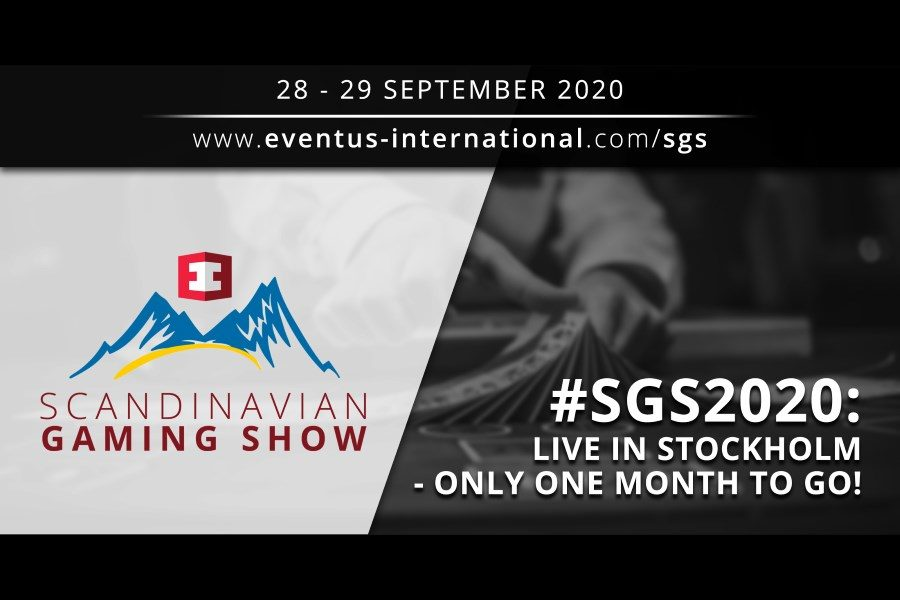 SGS 2020 will take place next September 28-29.