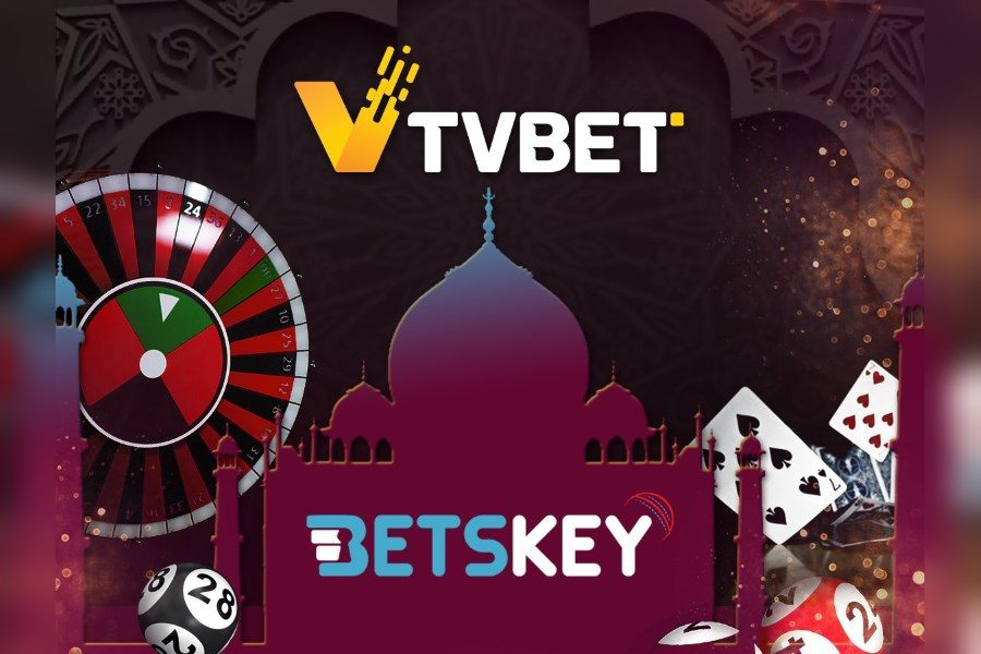 TVBET signs deal with Indian sportsbook Betskey.