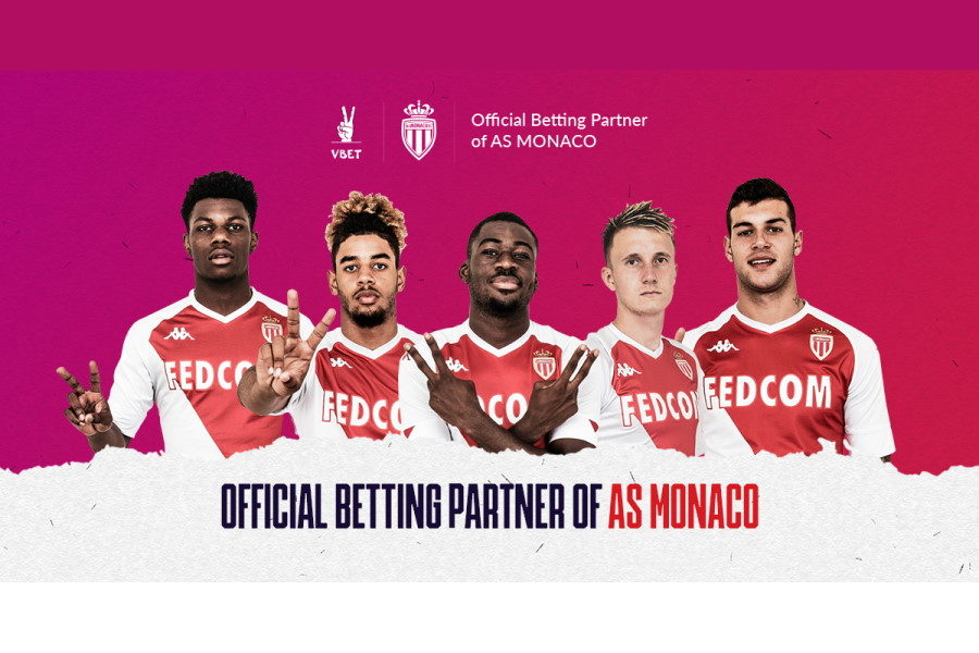VBET has signed a key partnership deal with AS Monaco.