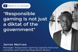 Responsible gaming is not just a diktat of the government