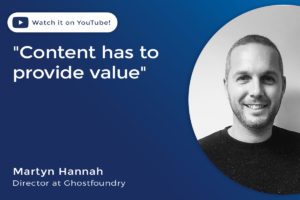 Content has to provide value