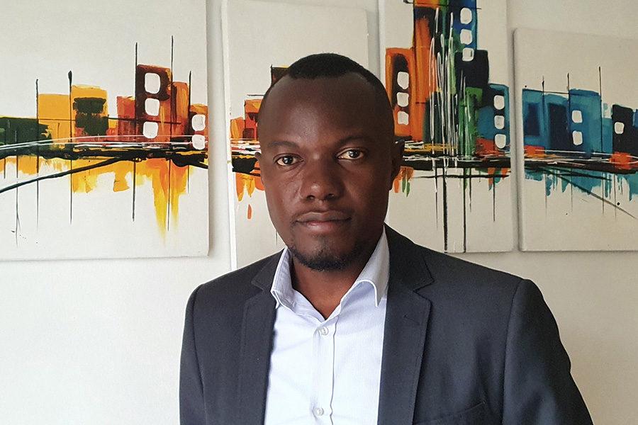 James Mpiirwe, manager of responsible gaming the Gaming Regulatory Board Uganda.