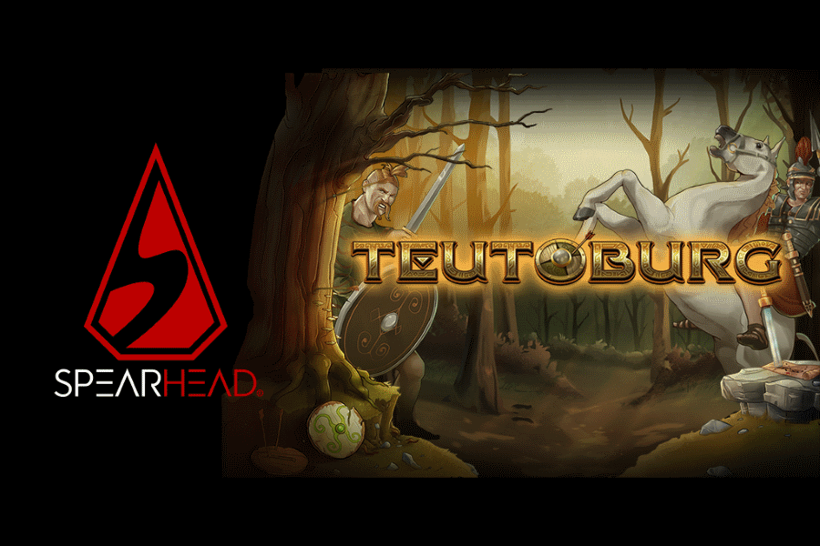Teutoburg is the latest video slot developed by Spearhead Studios.