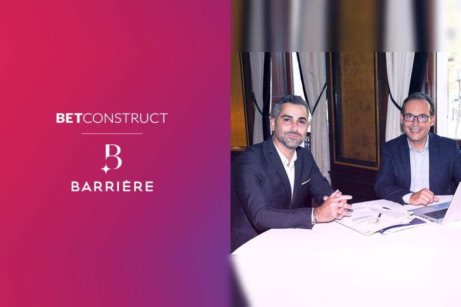 BetConstruct has signed a partnership deal with Barrière.