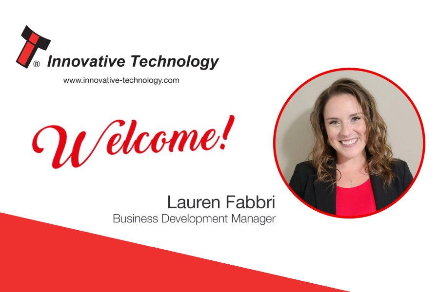 Innovative Technology Americas welcomed Lauren Fabbri.