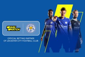 Parimatch will be Leicester City's new Official First Team Training Wear Partner in 20/21.
