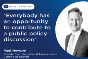Everybody has an opportunity to contribute to a public policy discussion