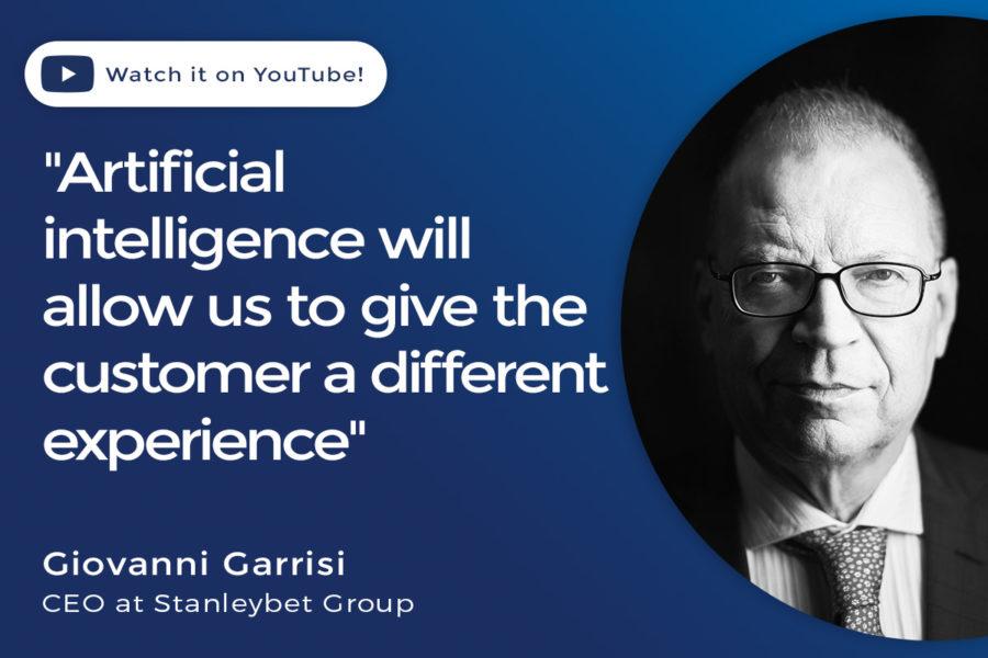 Giovanni Garrisi, CEO of Stanleybet Group.