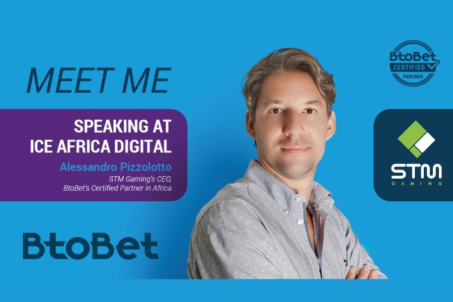STM Gaming's CEO Alessandro Pizzolotto to speak at ICE Africa Digital.