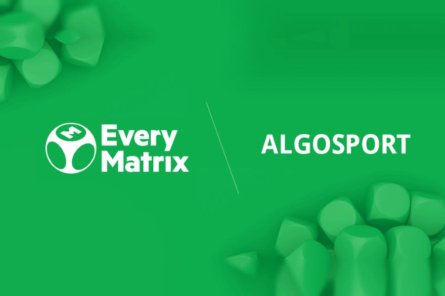 EveryMatrix signed a strategic partnership with Algosport.