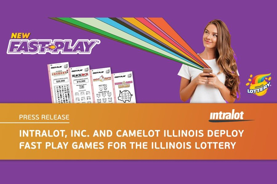 Intralot's fast play games go live in Illinois.