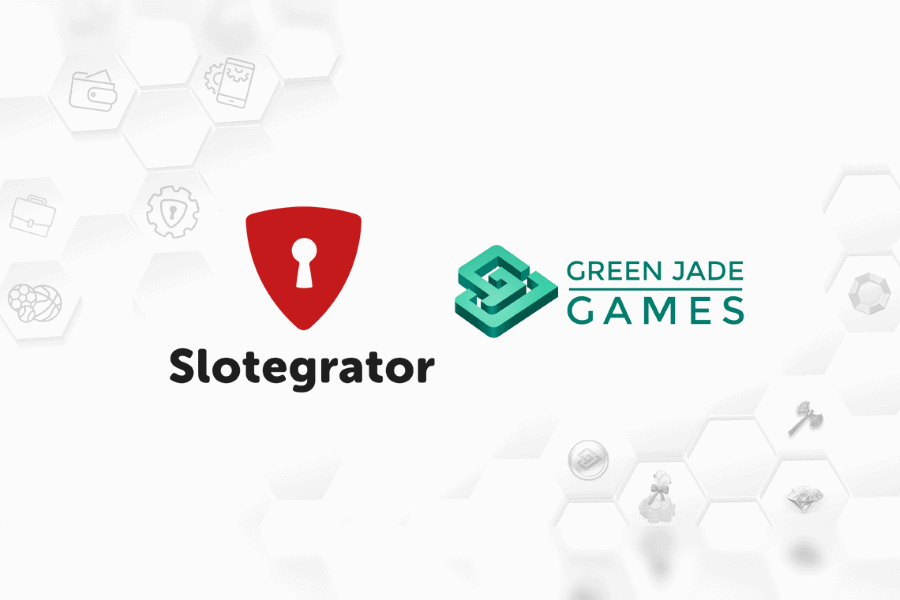 Slotegrator has partnered with Green Jade.