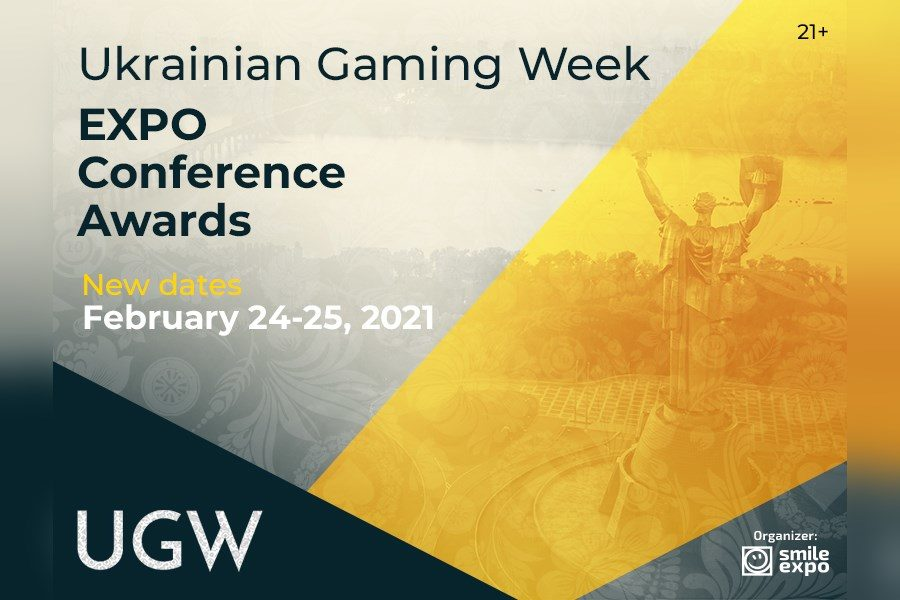 The Ukrainian Gaming Week will gather the industry in February 2021.