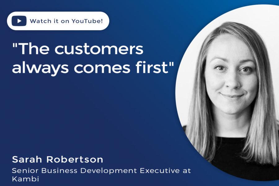 Sarah Robertson, senior business development executive at Kambi.