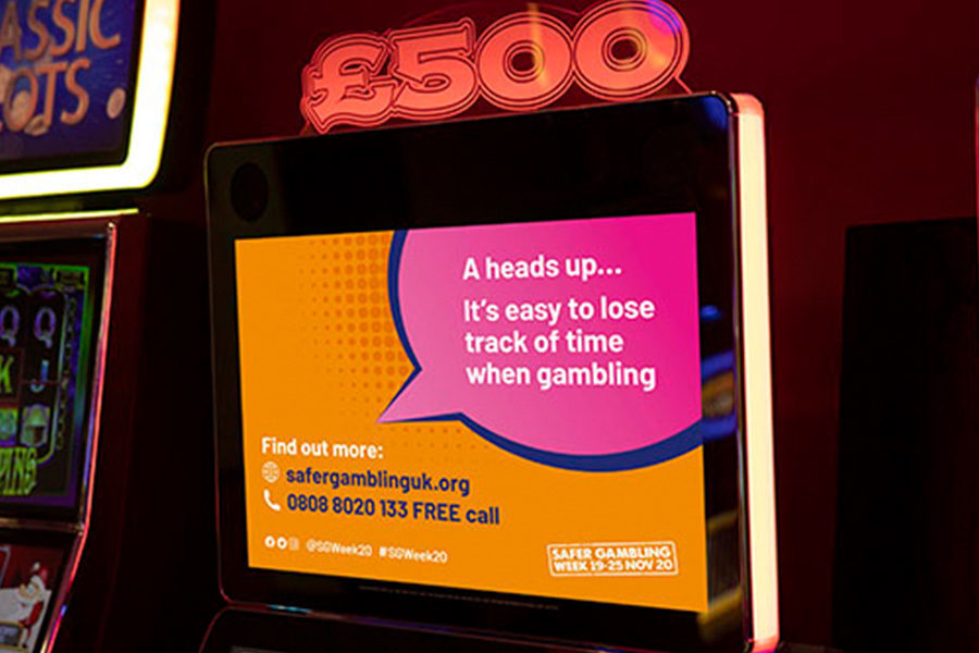 Safer Gambling Week runs in the UK and Ireland until November 25.