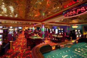 The casino has been operating at 25 per cent capacity.