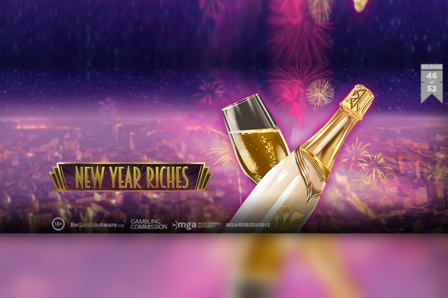 New Year Riches is Play'n Go's 46th launch of 2020.