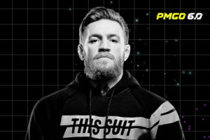 Conor McGregor speaks to Parimatch CEO Sergey Portnov at PMGO 6.0 digital event.