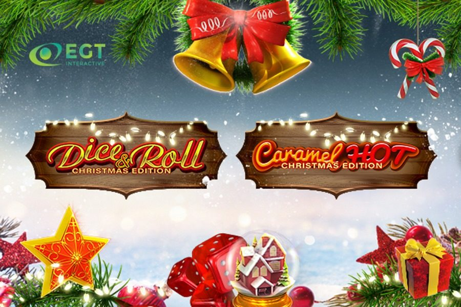 EGT Interactive has launched two Christmas slots.
