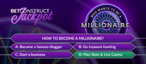 BetConstruct's jackpot hits €1 million