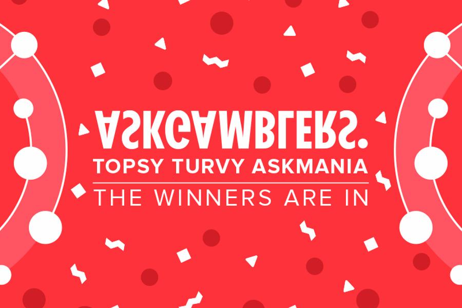 AskGamblers' Topsy Turvy AskMania Affiliate Race Has Its Winners