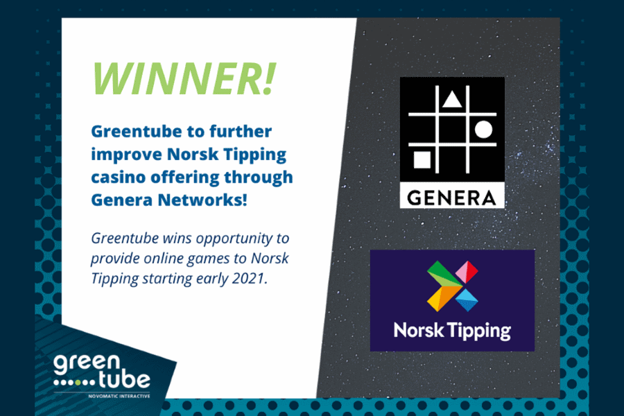 Greentube will boost Norsk Tipping with Genera.