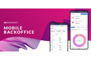BetConstruct optimizes backoffice for mobile use